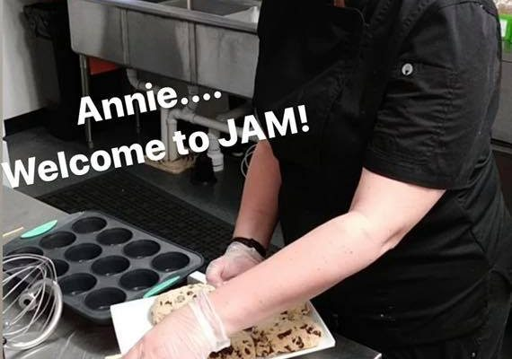 JAM's new IN-HOUSE baker!